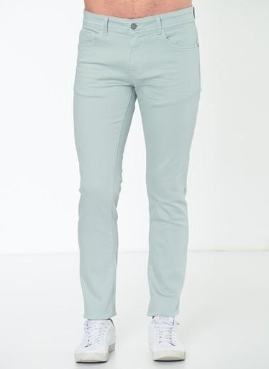 Altınyıldız Classics Likralı Denim Pantolon Yeşil